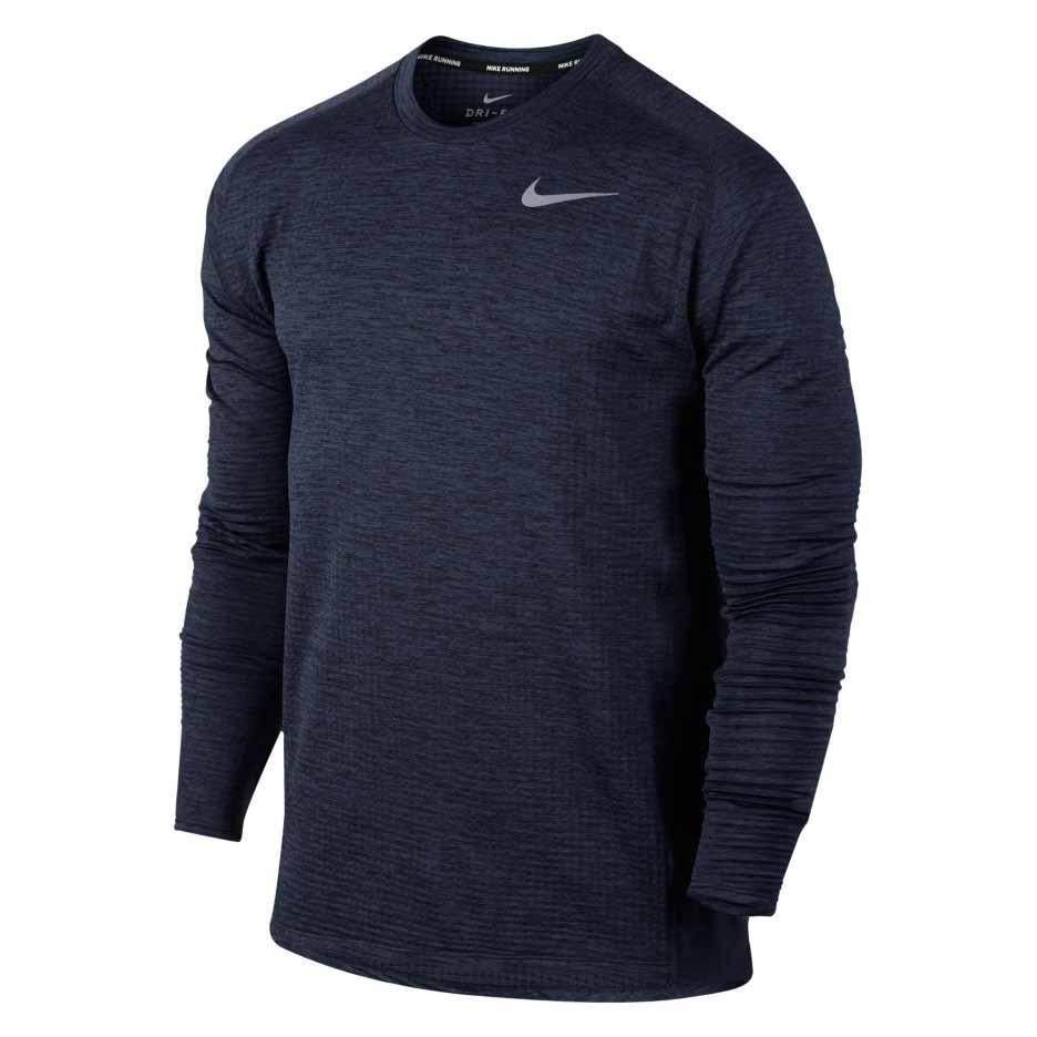 Pedir prestado Empírico Malgastar  Nike Therma Sphere Element Crew Blue buy and offers on Runnerinn