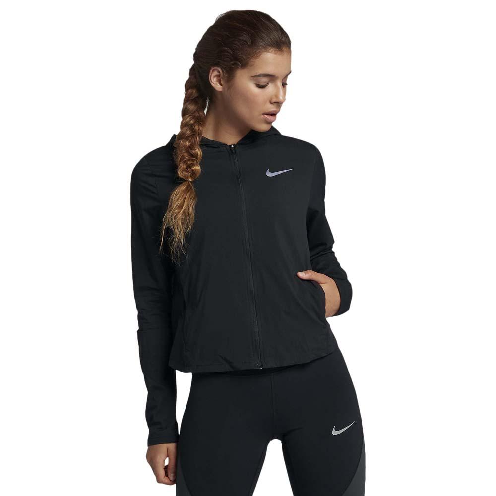 Convertible Nike Runnerinn Negro Shield Hooded Zz50wqz
