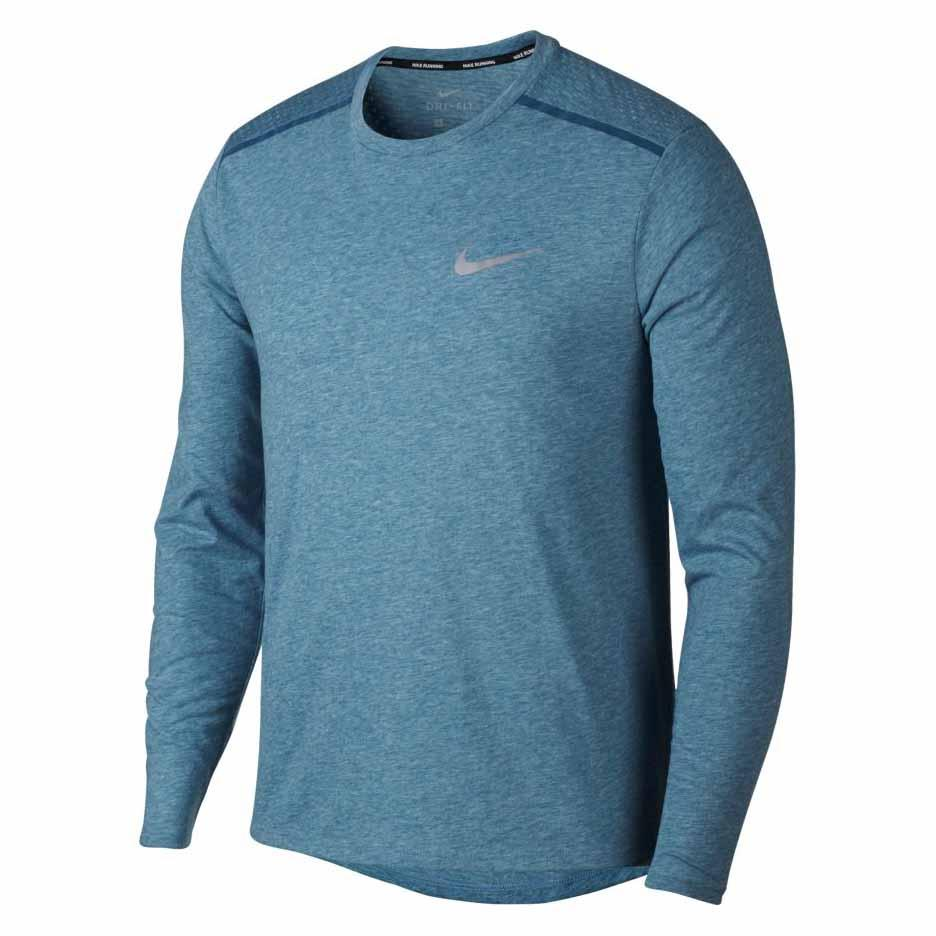 6807033fe4087f Nike Breathe Tailwind Blue buy and offers on Runnerinn