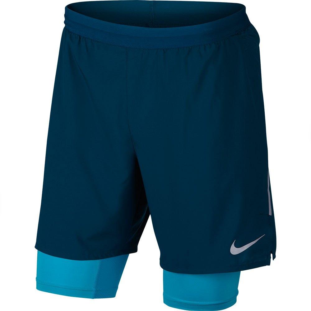 Nike Challenger 2 in 1 Laufshorts (ca. 18 cm) für Herren