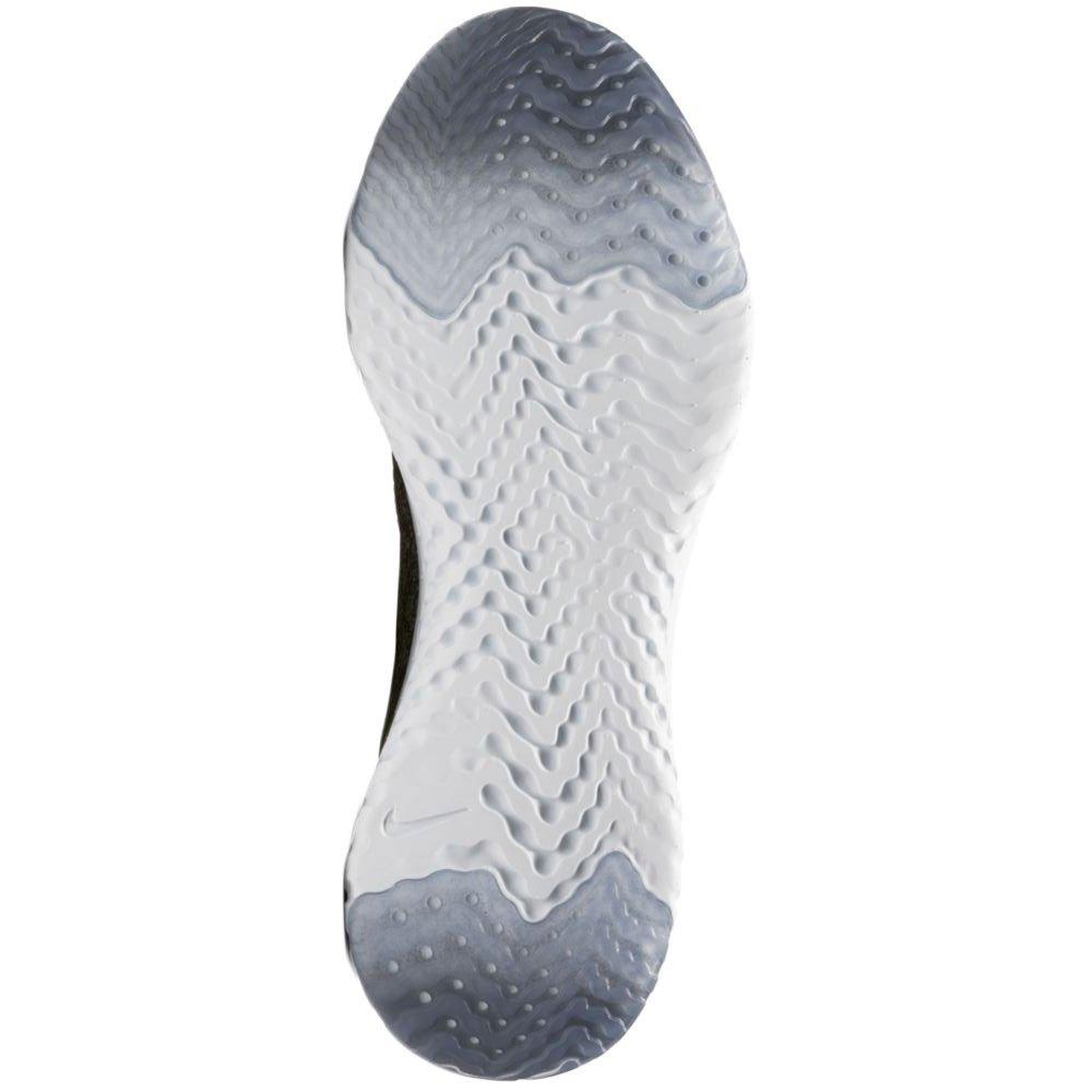 Nike Epic Reaccionar Flyknit Negro Oscuro  Negro  Gris Oscuro Negro  Pure Platinum 4864e6