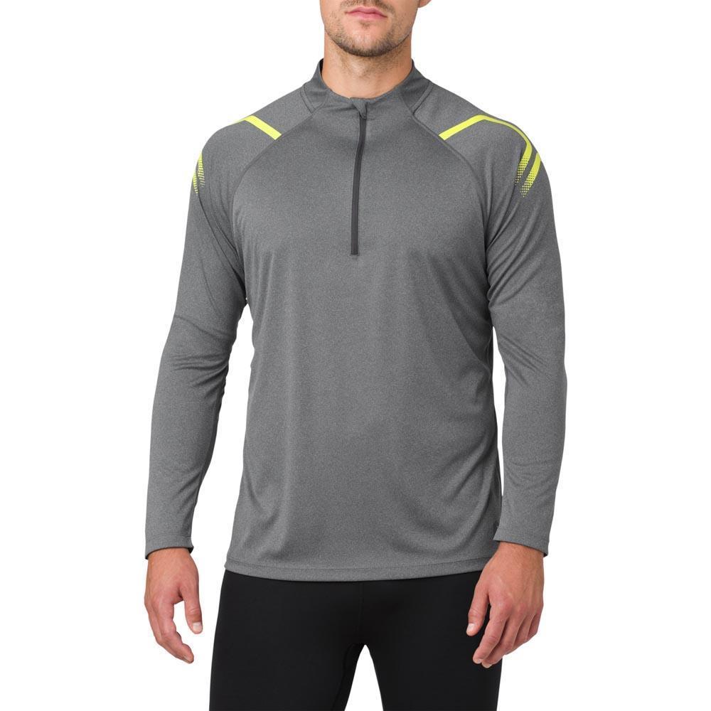 Asics Icon Half Zip Long Sleeve T-Shirt