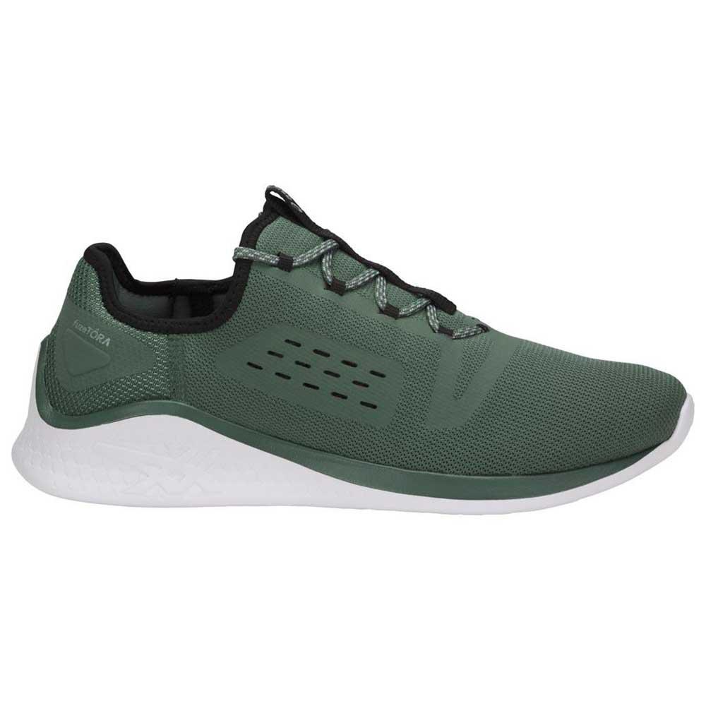 asics groen zwart