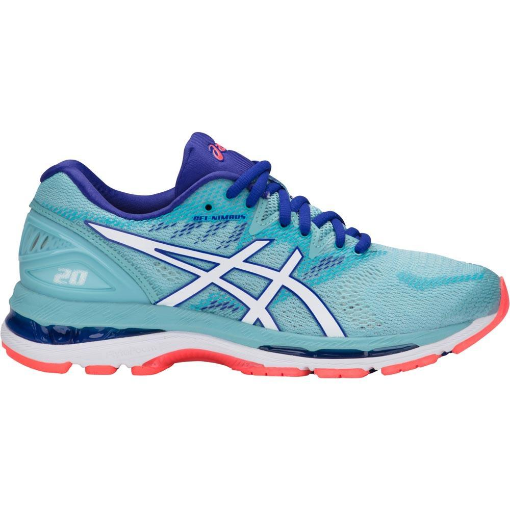 Asics Gel Nimbus 20 Blue buy and offers on Runnerinn 57c32748b88