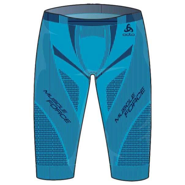 11ed8db1c2a Odlo Muscle Force Short Blauw kopen en aanbiedingen, Runnerinn