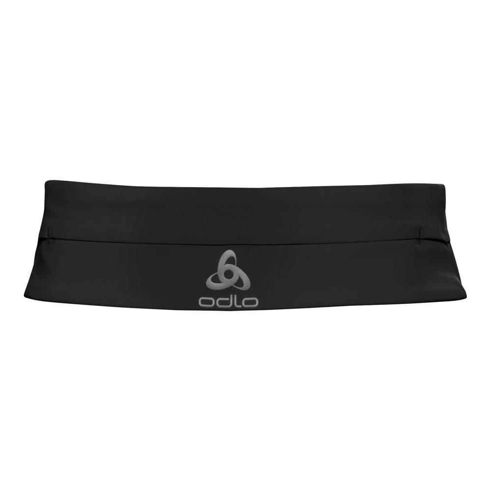 save off 8cbcc 63fa9 Odlo Valuables Waist Beltpack Black buy and offers on Runnerinn