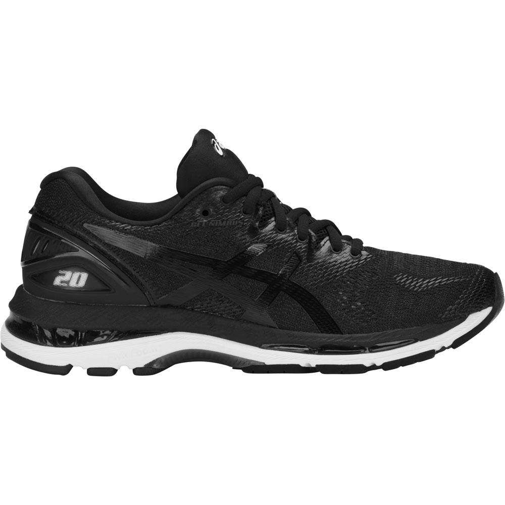 Zapatillas running Asics Gel Nimbus 20 EU 36 Black / White / Carbon