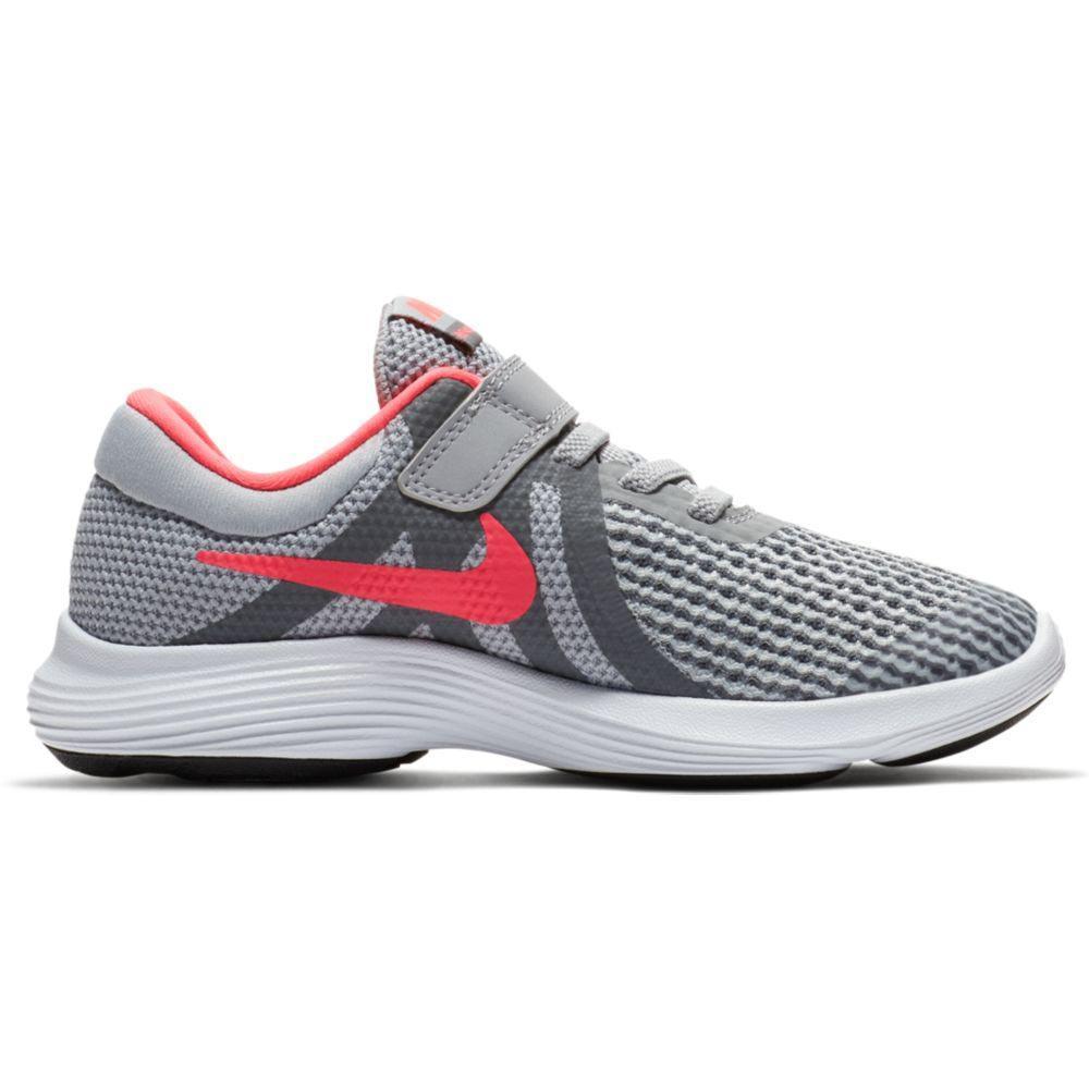 82da9823145ff Nike Revolution 4 Girl PSV Grey buy and offers on Runnerinn