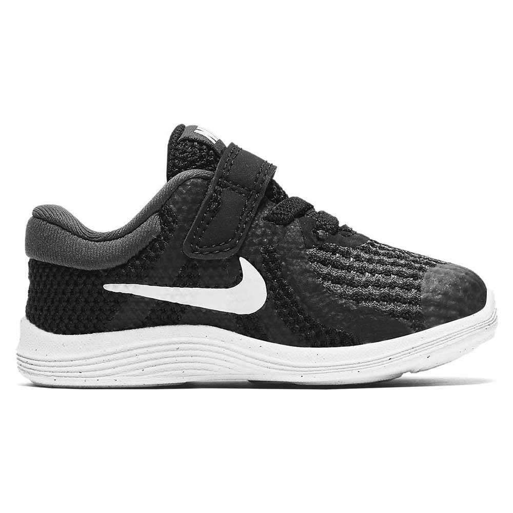 22172c3a6ddd Nike Revolution 4 TDV Black   White køb og tilbud