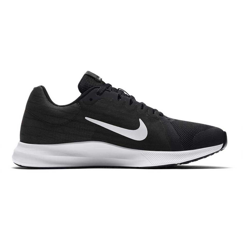 91068682e8b Nike Downshifter 8 GS Black buy and offers on Runnerinn