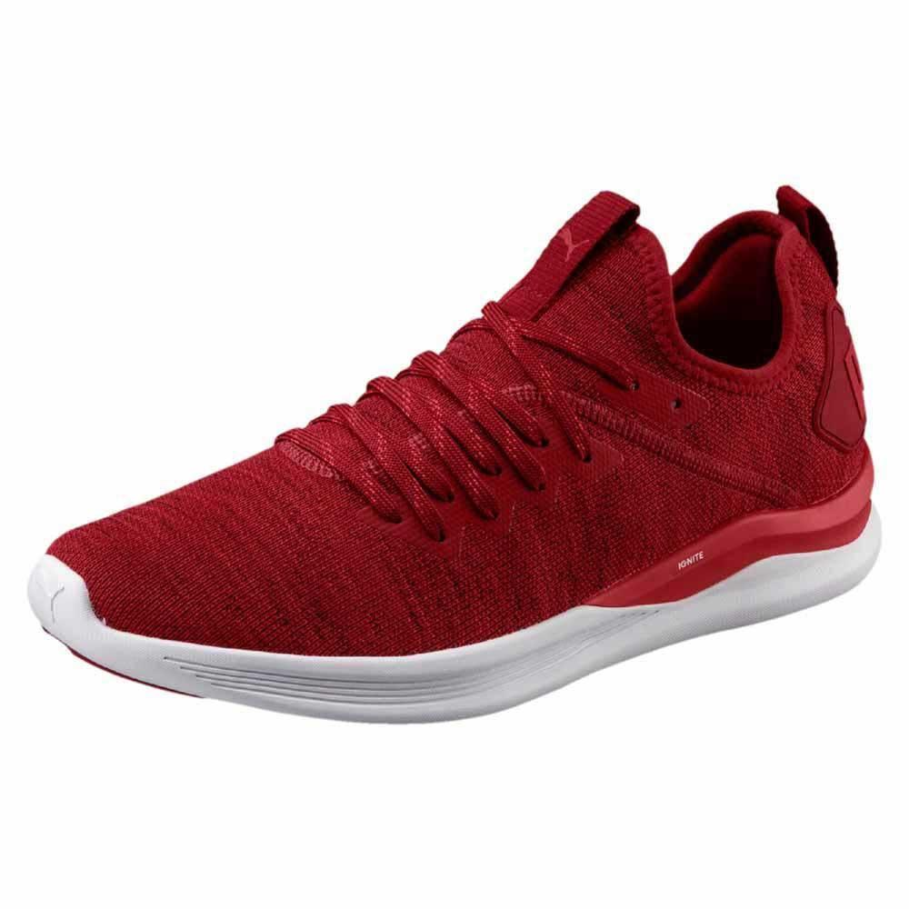 Puma Ignite Flash Evoknit Red buy and offers on Runnerinn 5958f10fee54