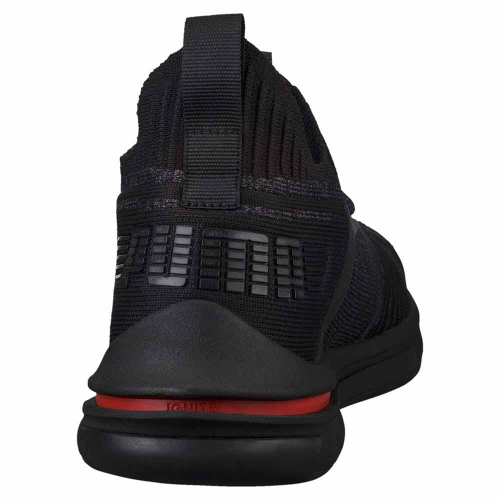 huge discount 0322c 1e9e1 Puma Ignite Limitless SR Evoknit Black, Runnerinn