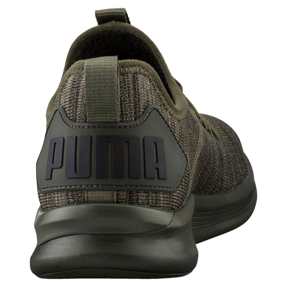 puma ignite flash evoknit schwarz