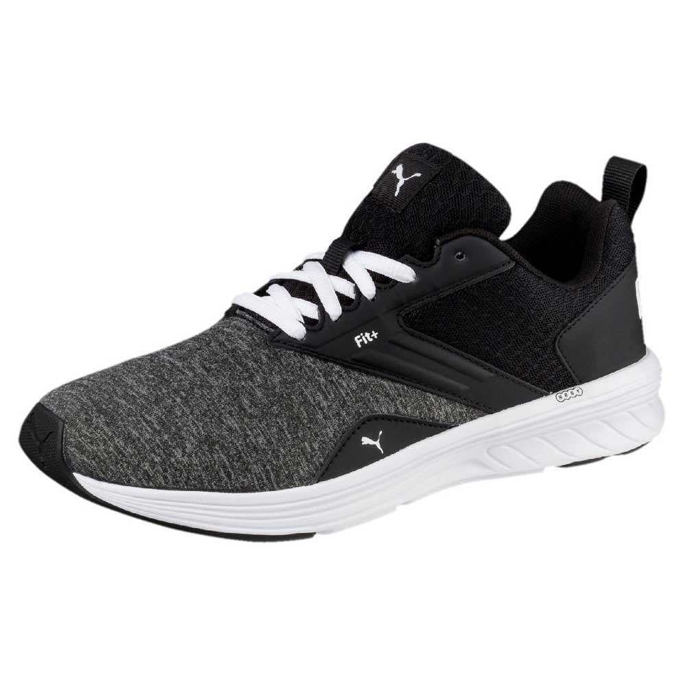 best website 42dd9 7f513 Puma Nrgy Comet Black buy and offers on Runnerinn