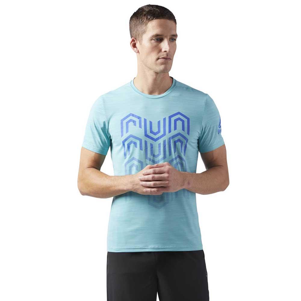 paquete de moda y atractivo excepcional gama de colores estilo de moda Reebok Activchill Graphic Blue buy and offers on Runnerinn