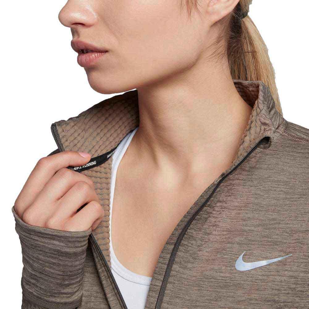 Nike Therma Sphere Half Zip Top W Szara