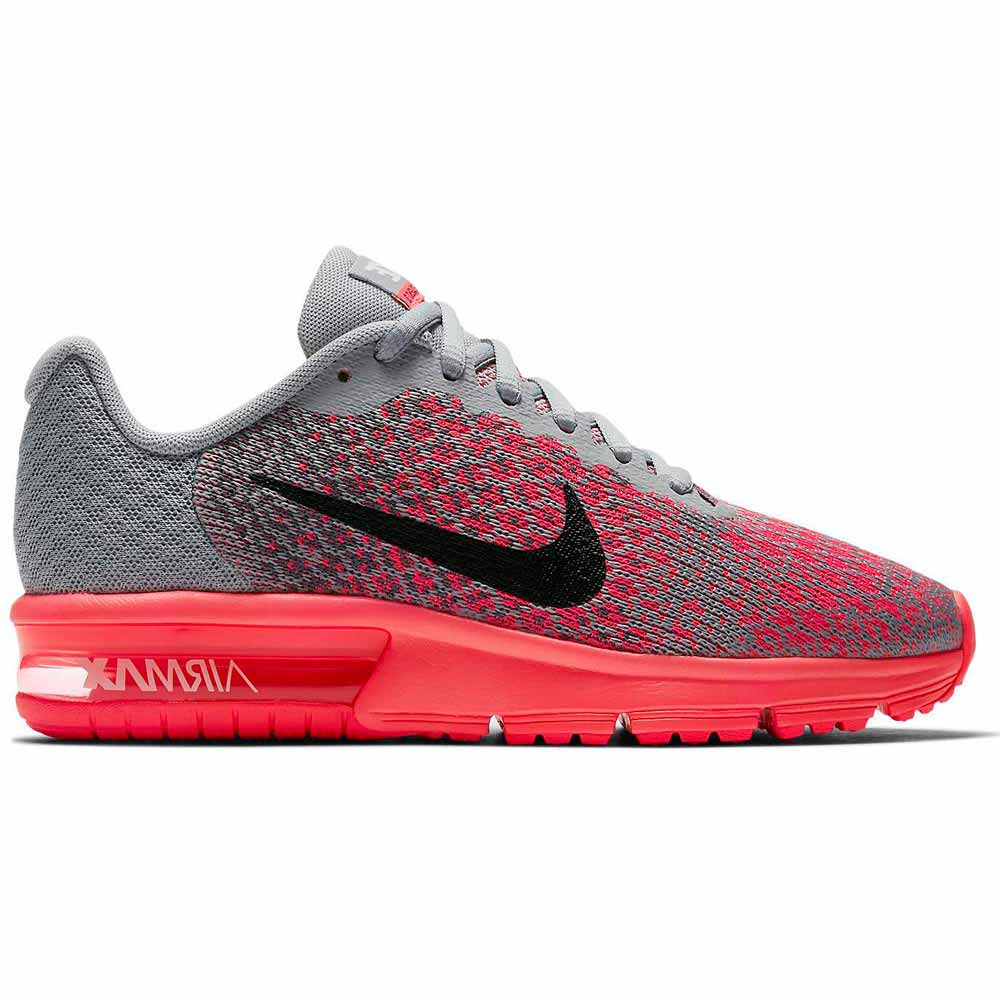 ecb0689e01b Nike Air Max Sequent 2 GS Red buy and offers on Runnerinn