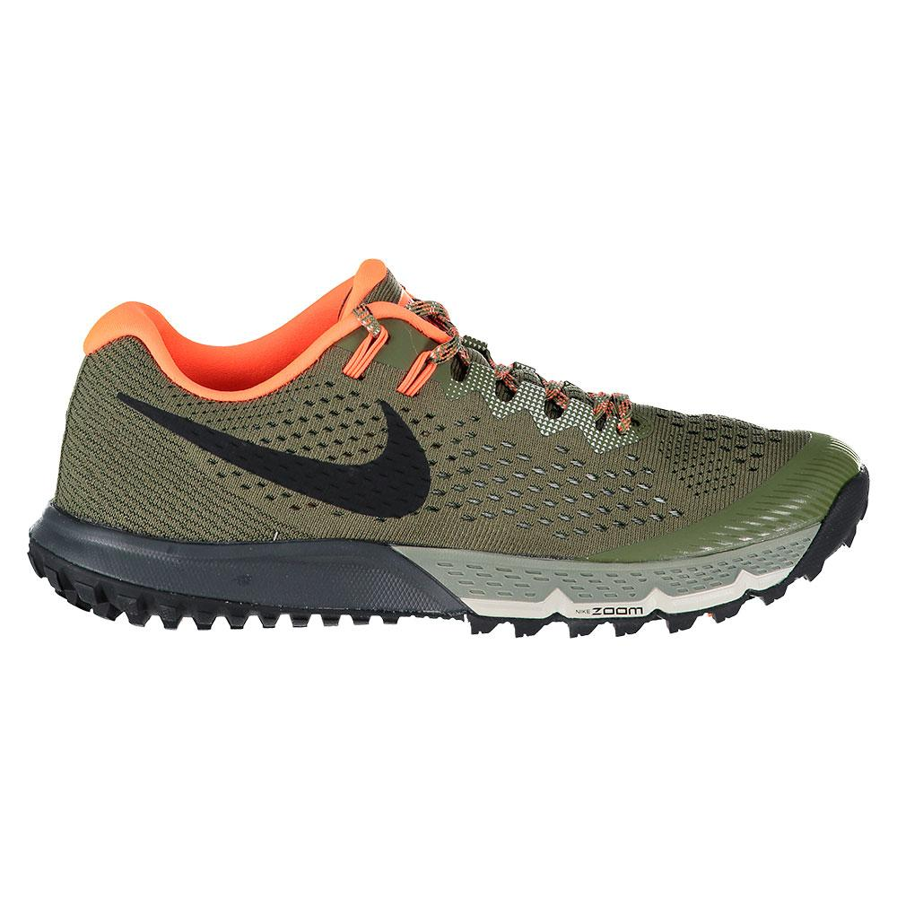 974a1729f2b591 Nike Air Zoom Terra Kiger 4 Green buy and offers on Runnerinn