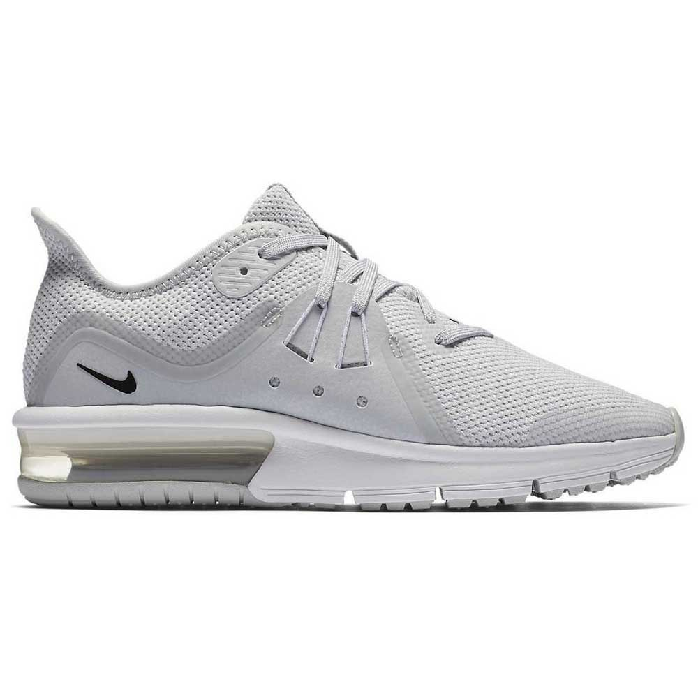 680111e2e5e814 Nike Air Max Sequent 3 GS Grey buy and offers on Runnerinn