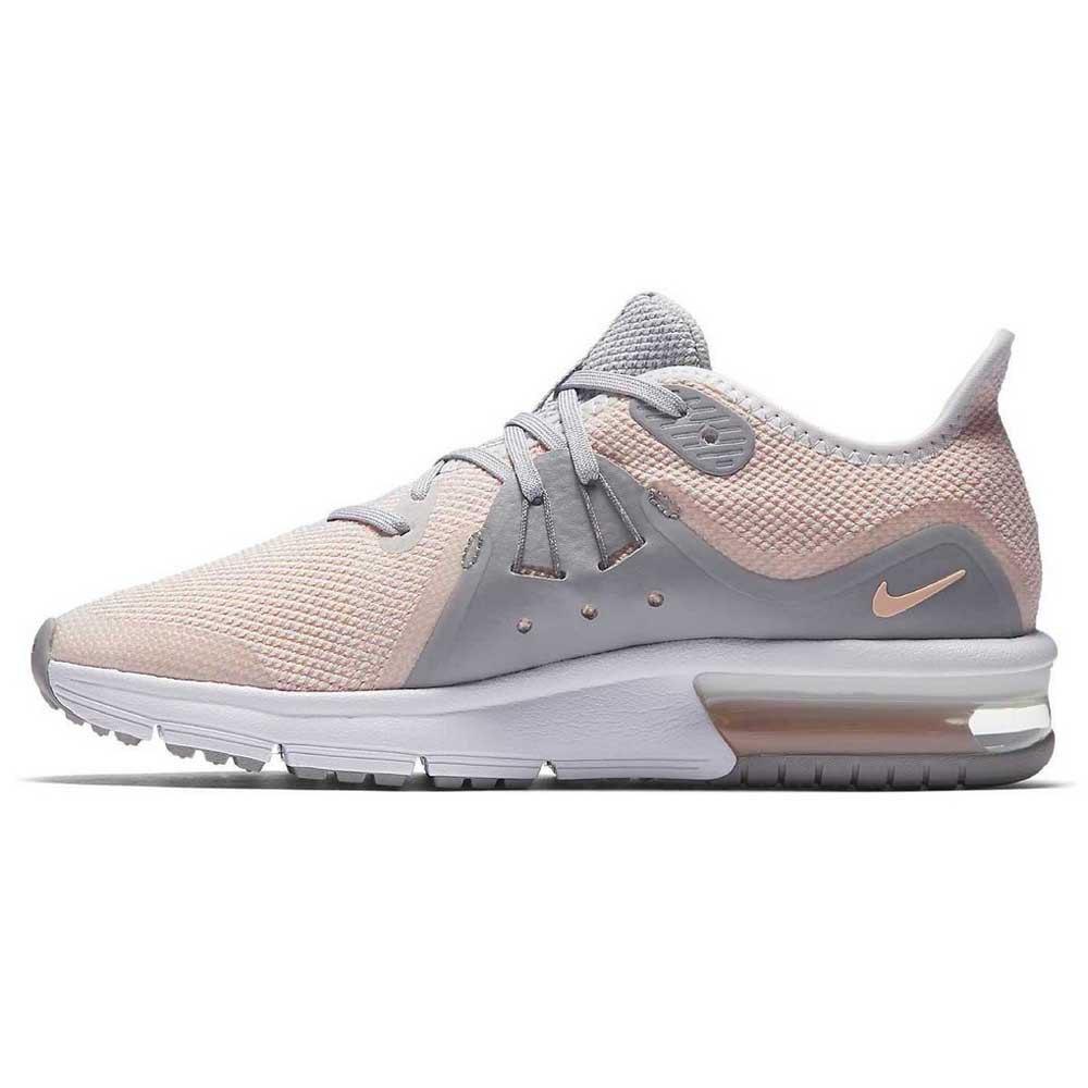 Nike Air Max Sequent 3 GS Castanho, Runnerinn Sapatos running