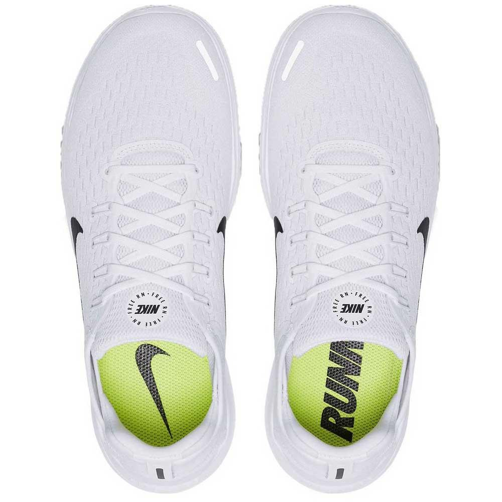 d8a25f51260a Nike Free RN 18 White buy and offers on Runnerinn