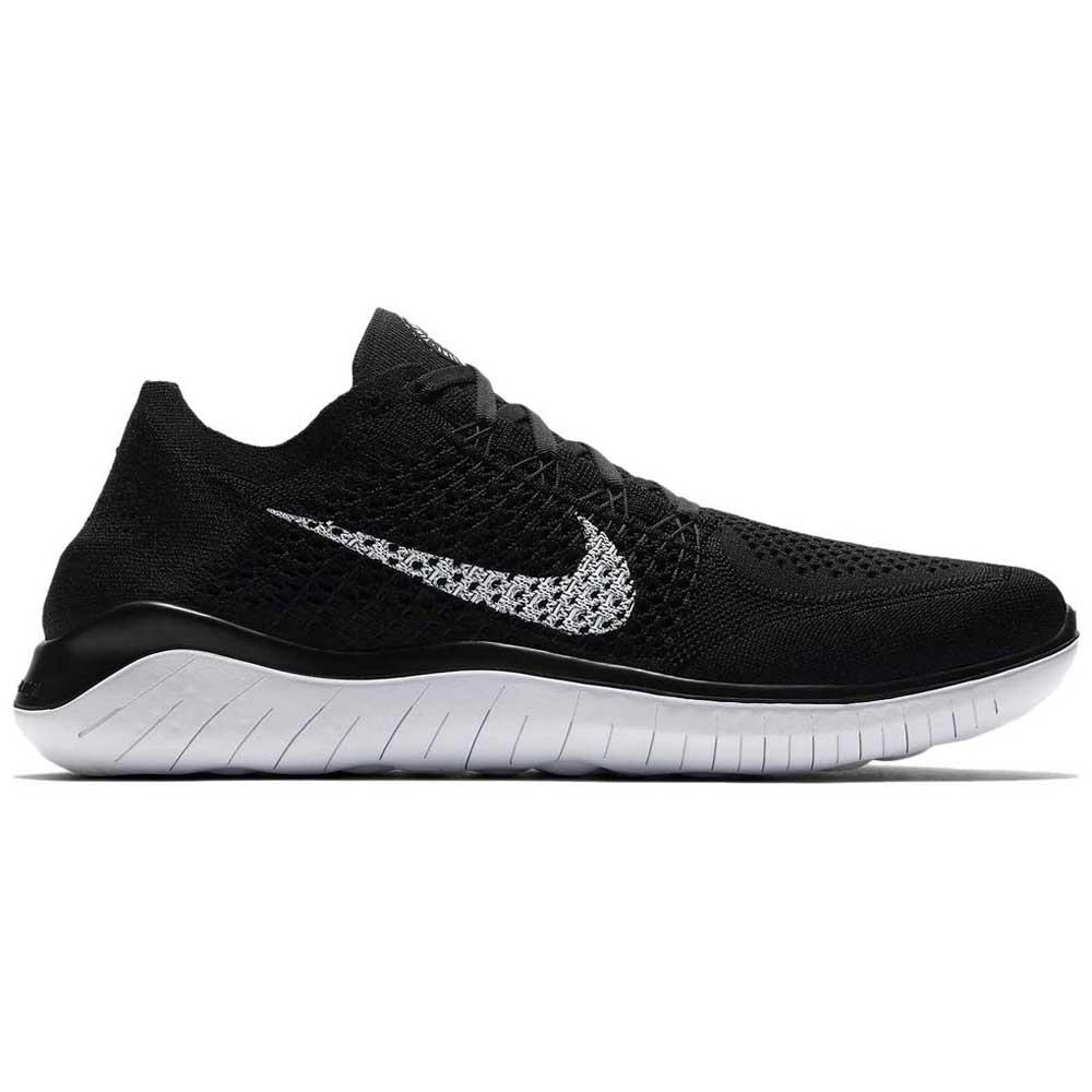 fdd01153aec2a Nike Free RN Flyknit 18 Black buy and offers on Runnerinn