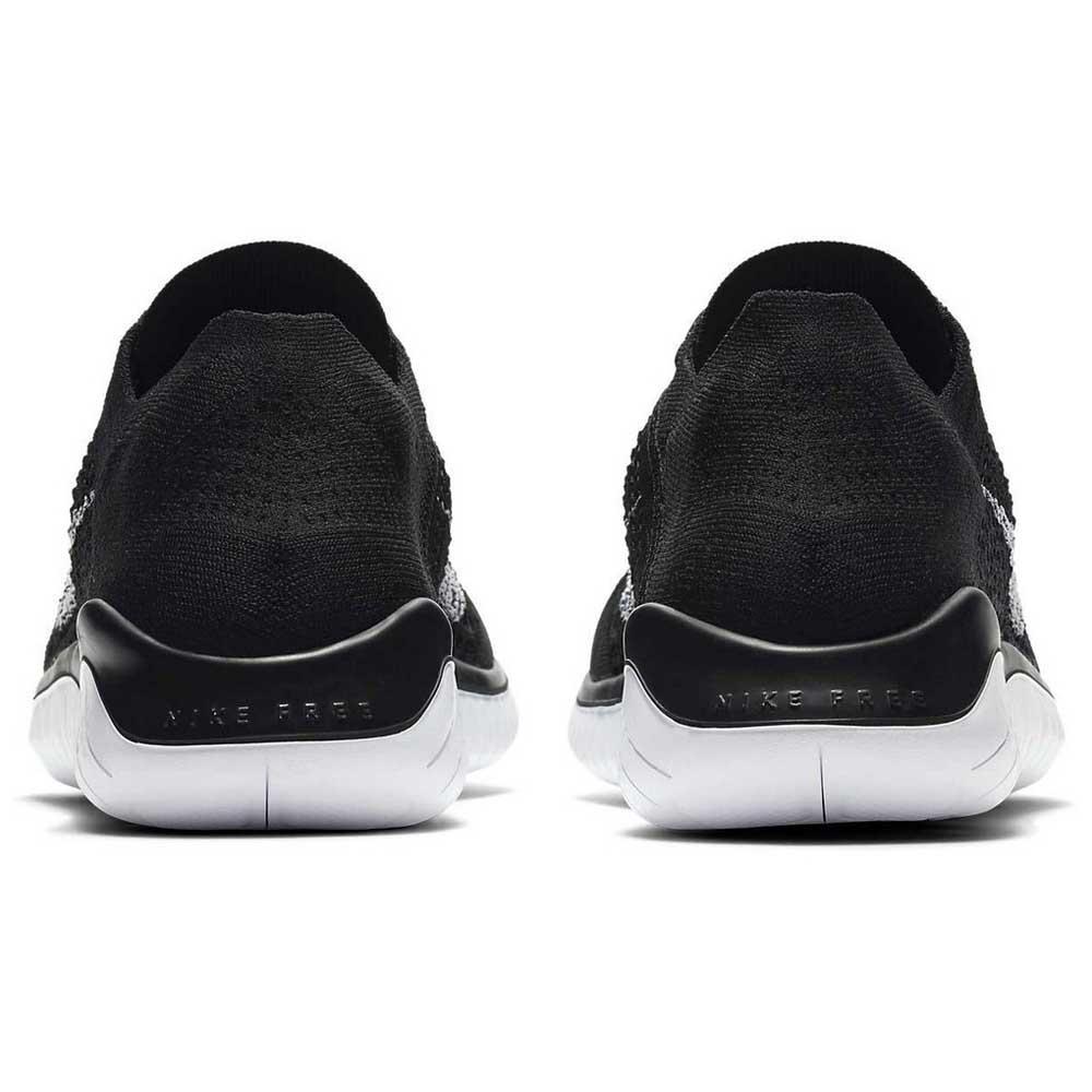 new styles 4ba51 b456d Nike Free RN Flyknit 18 Negro comprar y ofertas en Runnerinn