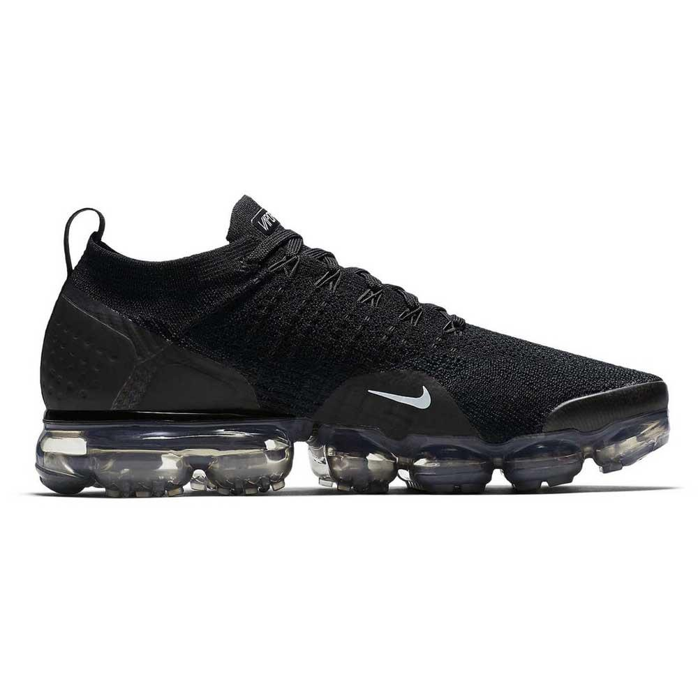 74e4d927e791d Nike Air Vapormax Flyknit 2 Black buy and offers on Runnerinn