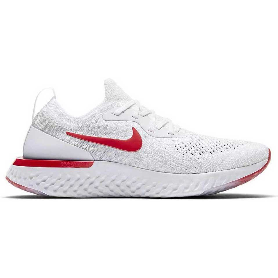 f7ab1331262d Nike Epic React Flyknit GS White buy and offers on Runnerinn