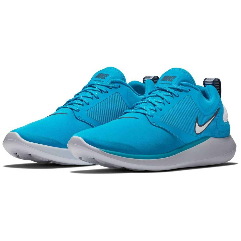 f89518f9e590 Nike Lunarsolo Blue buy and offers on Runnerinn