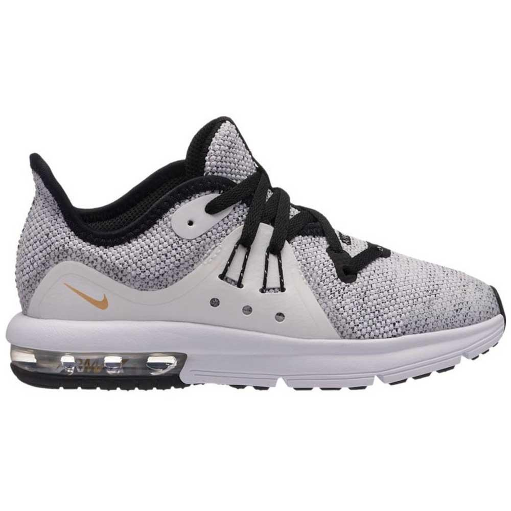 cae04b2f17 Nike Air Max Sequent 3 PS Black buy and offers on Runnerinn