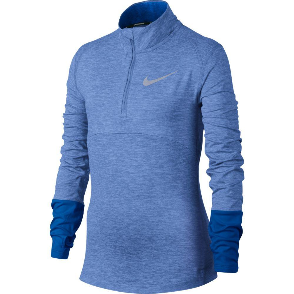 405bd06118c7 Nike Dry Element Half Zip Blue buy and offers on Runnerinn