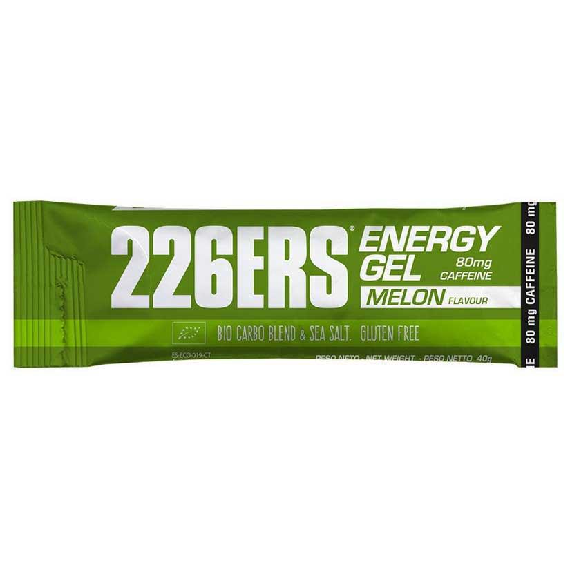 226ers Energy Gel Bio Melon Caffeine 40gr X 30 Units