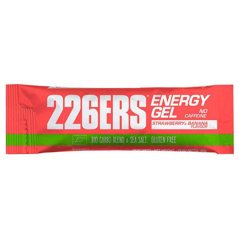 226ers Energy Gel Bio Caffeine Strawberry Bananna 40gr X 30 Units