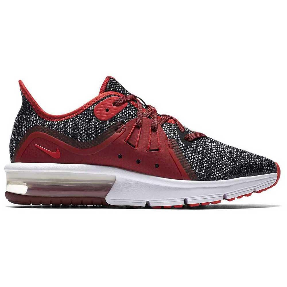 5c8f3361aef Nike Air Max Sequent 3 GS Red buy and offers on Runnerinn