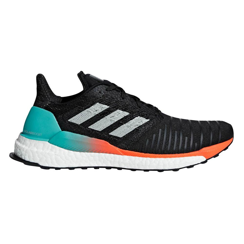 9c30485ef0 adidas Solar Boost Black buy and offers on Runnerinn