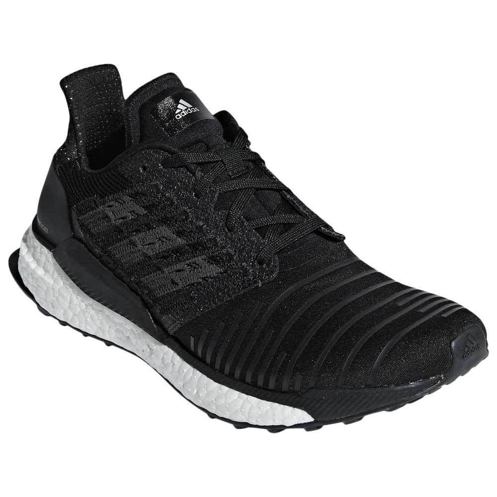 adidas Solar Boost Black buy and offers on Runnerinn e31204d337b4