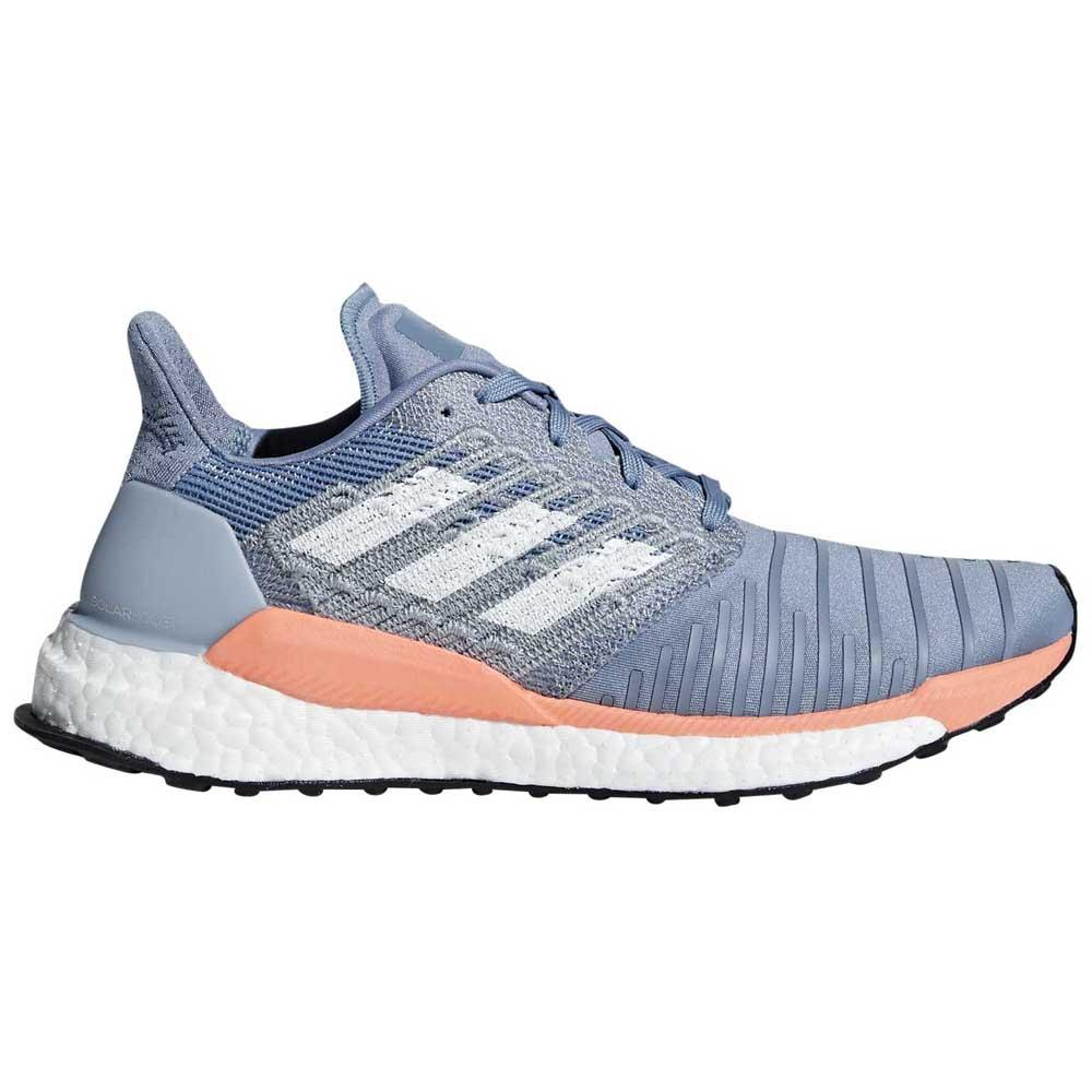 Adidas Solar Boost EU 42 2/3 Raw Grey / White / Chalk Coral