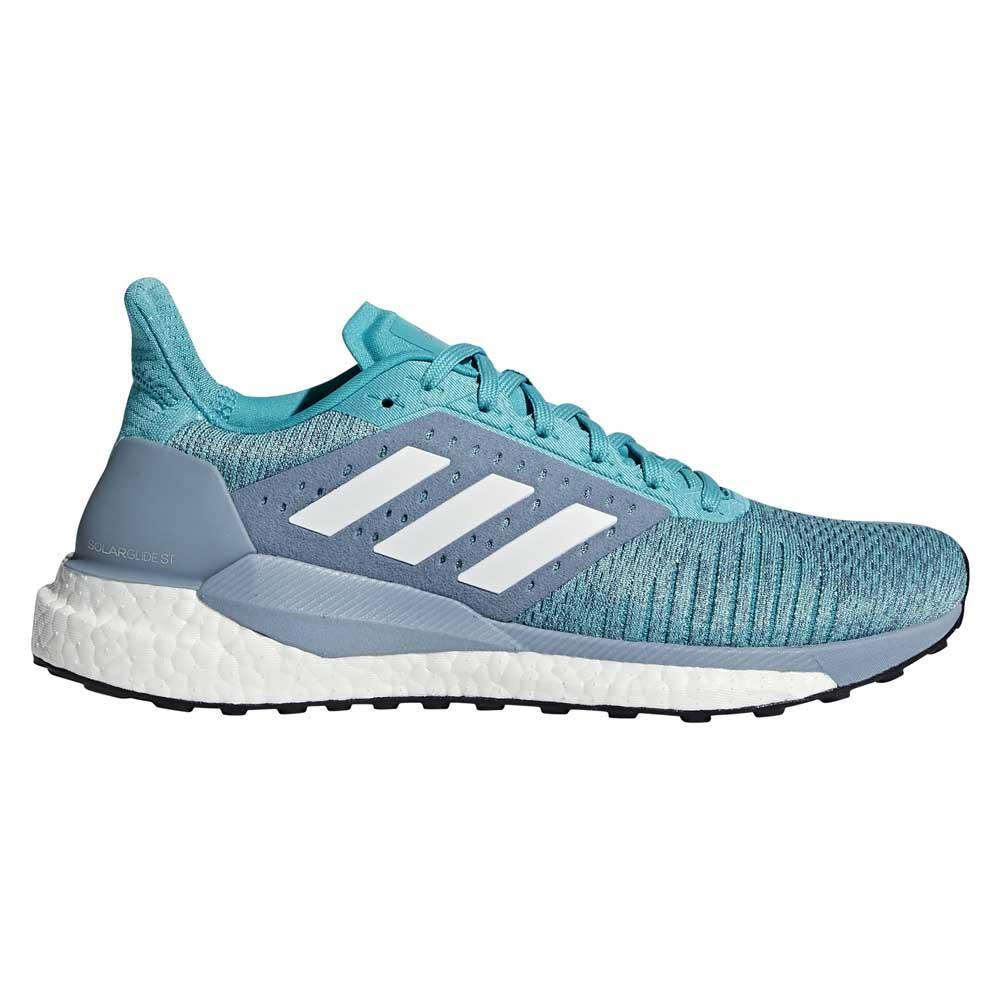the best attitude 31109 c64b8 adidas Solar Glide ST Blue buy and offers on Runnerinn