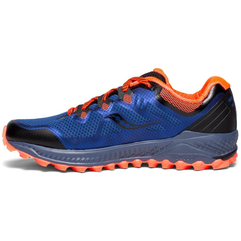 c7526e8fdc5 Saucony Peregrine 8 Blue buy and offers on Runnerinn
