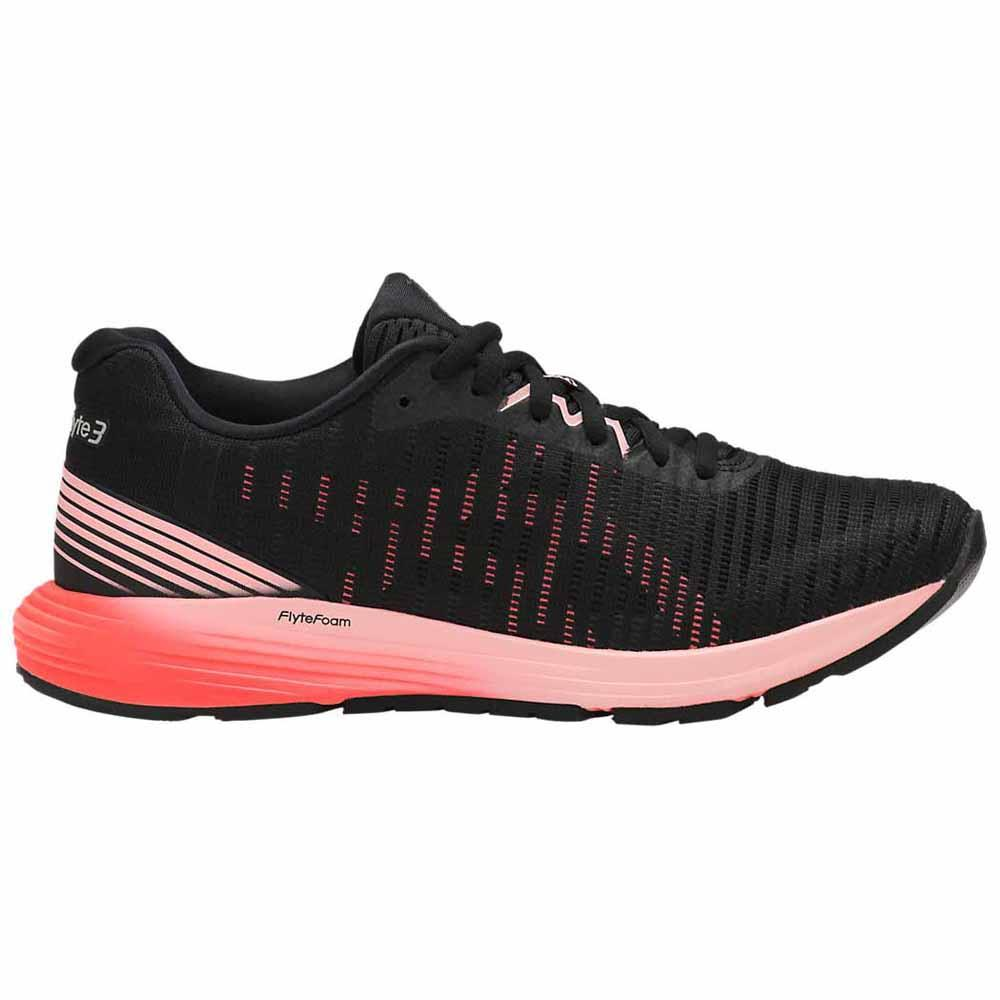 Zapatillas running Asics Dynaflyte 3 EU 43 1/2 Black / Flash Coral