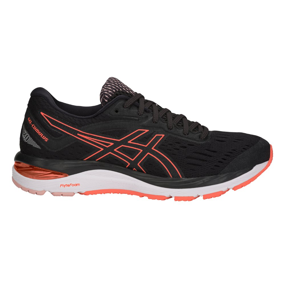 Zapatillas running Asics Gel Cumulus 20 EU 35 1/2 Black / Flash Coral