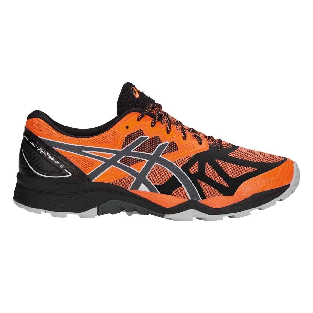 promo code c3b0f 4a493 Asics Gel FujiTrabuco 6 Orange buy and offers on Runnerinn