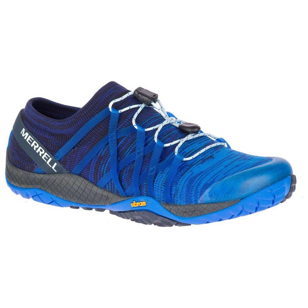 Merrell Trail Glove 4 Blue buy and offers on Runnerinn 0924b22ab9