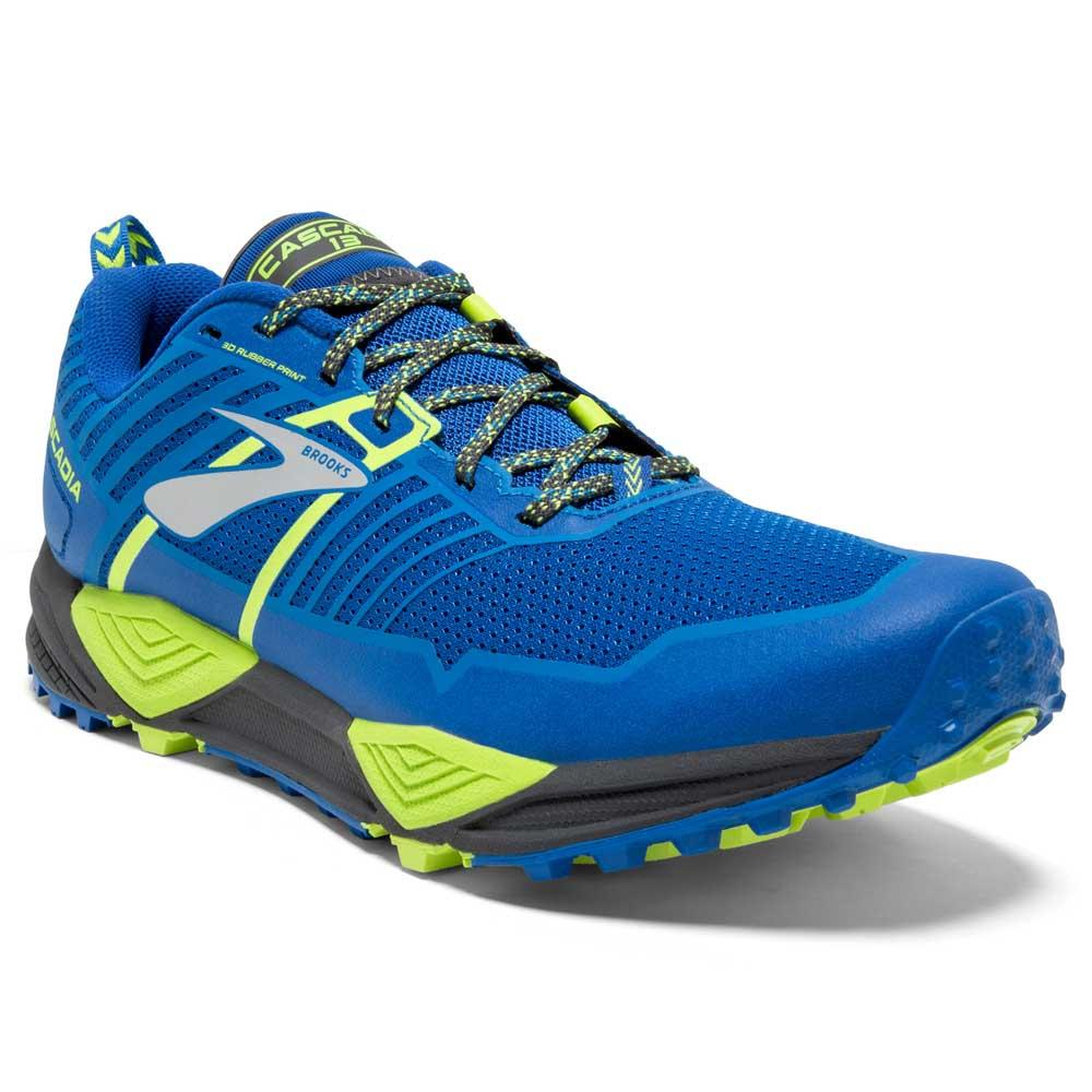 b98736ddc9816 Brooks Cascadia 13 Blue buy and offers on Runnerinn
