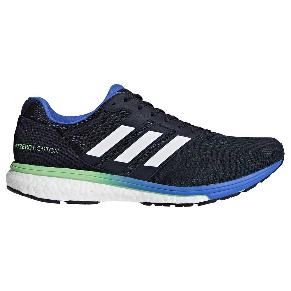 new product 4f213 08a9e adidas Adizero Boston 7 Blue buy and offers on Runnerinn