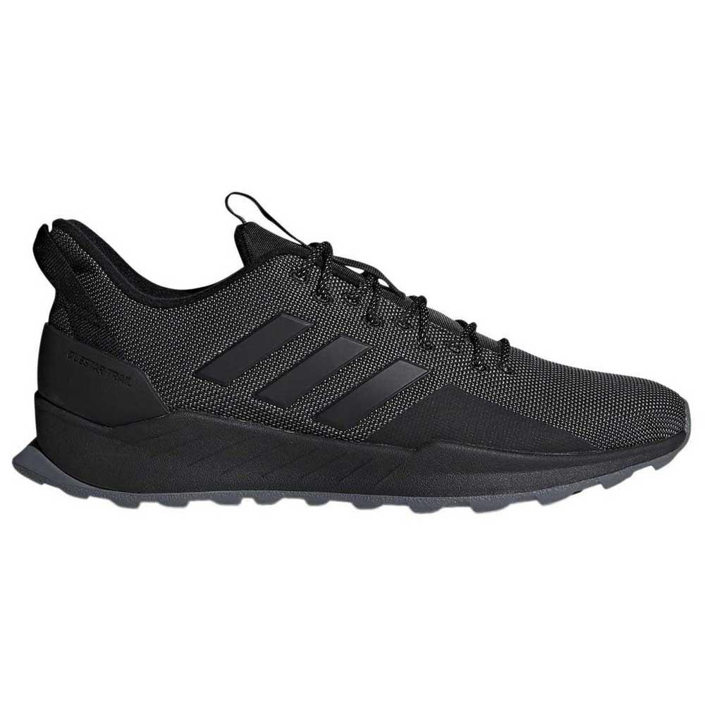adidas Questar Trail Black buy and offers on Runnerinn 9f17cc65980e