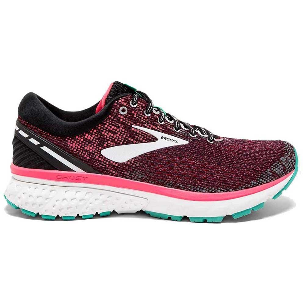 2361932417407 Brooks Ghost 11 Black   Pink   Aqua buy and offers on Runnerinn