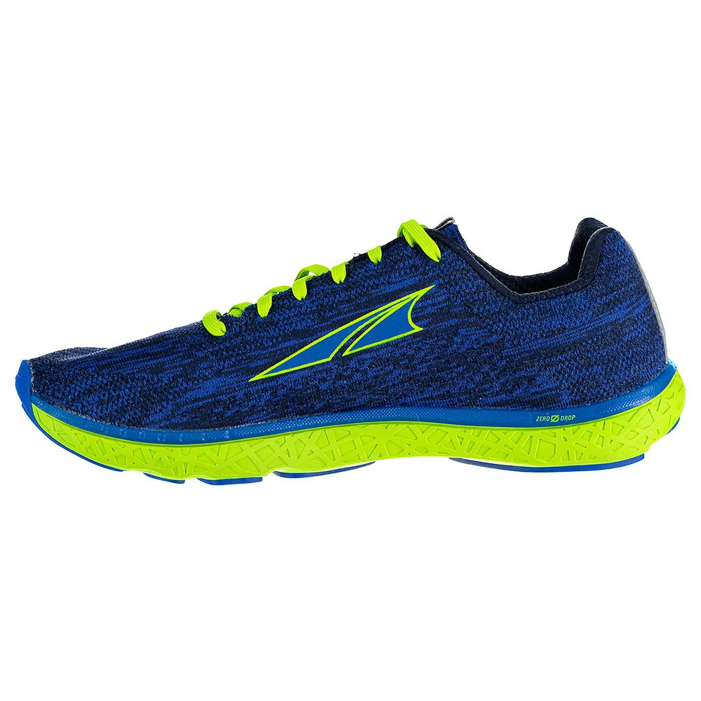 Altra timp 1,0 menns Zero drop & fot form trail running sko blå
