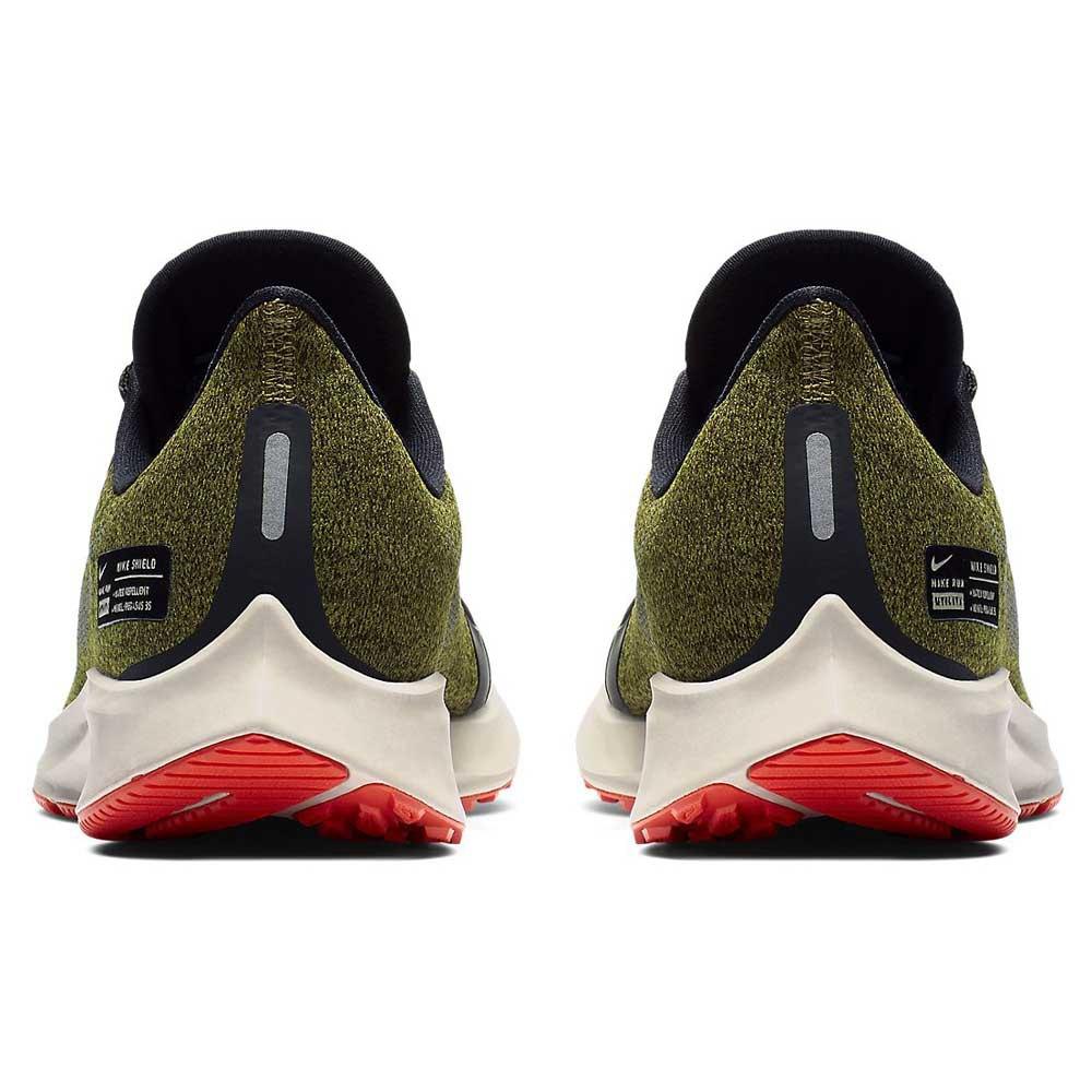 Nike Air Zoom Pegasus 35 Shield GS Verde 0921aa64a6b3e